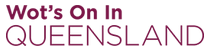 Wot's On In Queensland Logo
